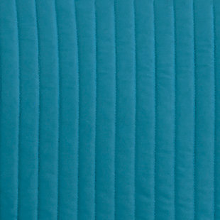 Raleda 3-Piece Queen Coverlet Set, Turquoise, large