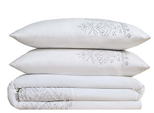 3 Piece Full/Queen Duvet Set, , large