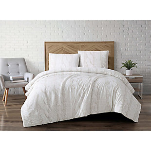 3 Piece Queen Comforter Set, , rollover
