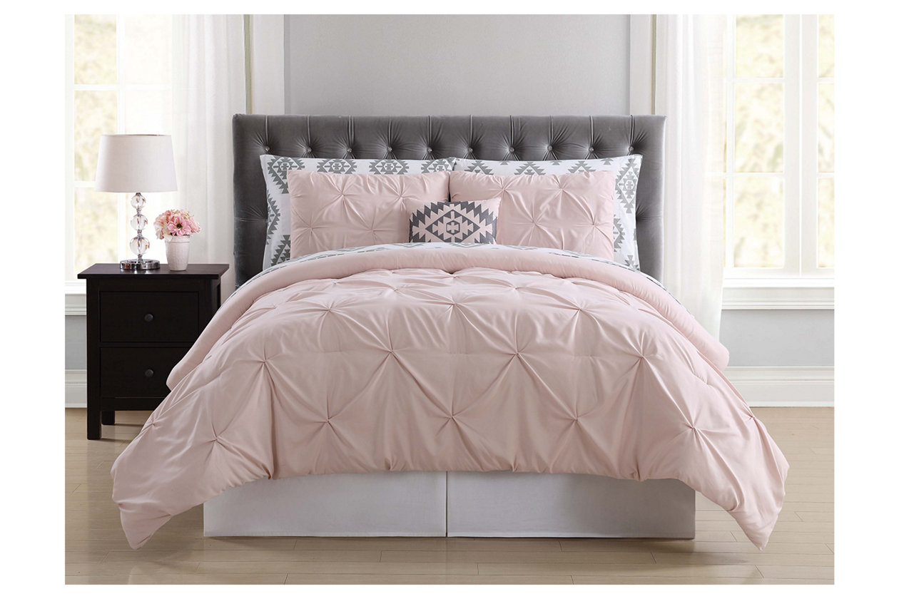 8 Piece Queen Comforter Set | Ashley Furniture HomeStore