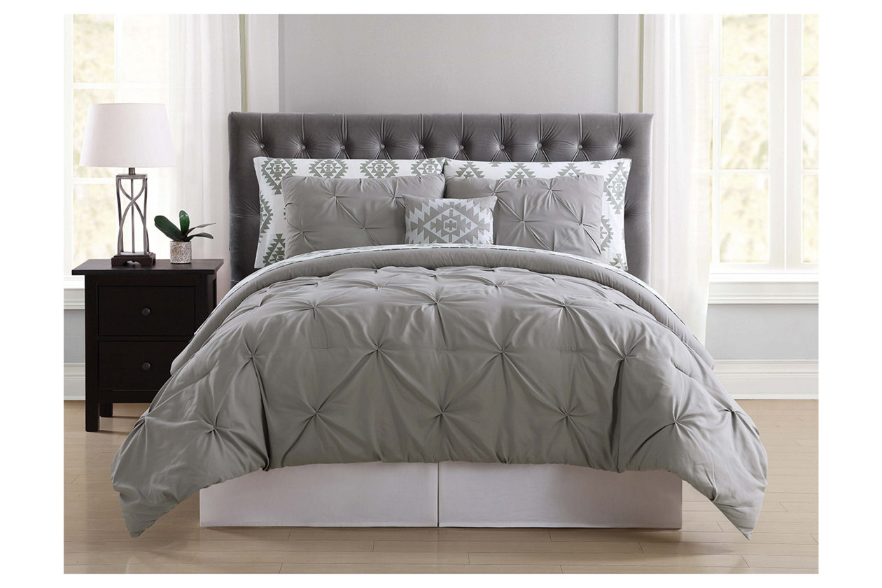 8 Piece King Comforter Set | Ashley Furniture HomeStore