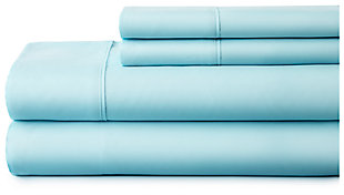 4 Piece Premium Ultra Soft Twin Bed Sheet Set, Aqua, large