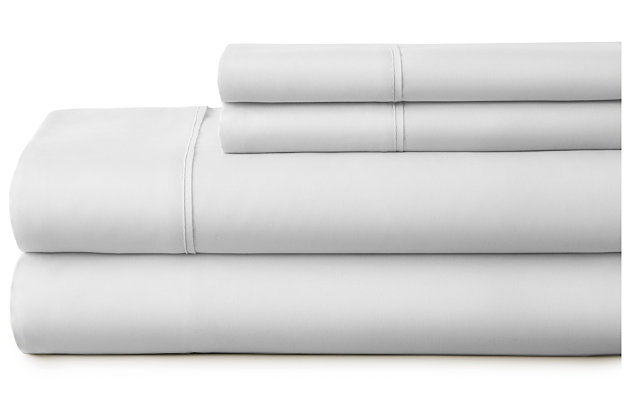 3 Piece Premium Ultra Soft Twin Bed Sheet Set, Light Gray, large