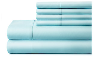 3 Piece Luxury Ultra Soft Twin Sheet Set, Aqua, large