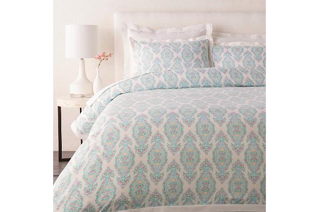 Transitional 3 Piece King Duvet Bedding Set | Ashley ... on kohl's bedding, west elm bedding, american apparel bedding, dillard's bedding, usa baby bedding, ralph lauren bedding,