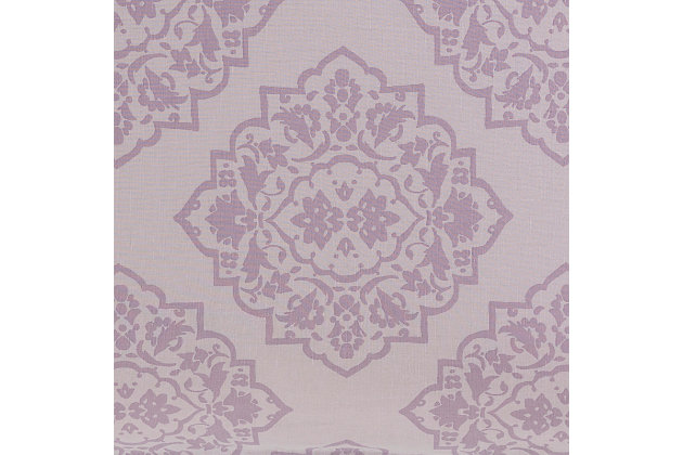 Transitional Euro Sham, Lilac/Mauve, large