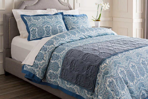 Paisley Runner Bedding Accessory, , large