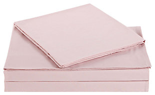 Microfiber Truly Soft Twin Sheet Set, Blush Pink, large