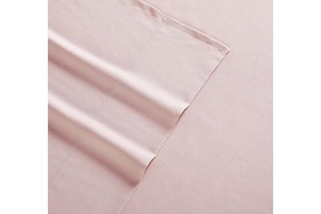 Microfiber Truly Soft Twin Sheet Set, Blush Pink, large