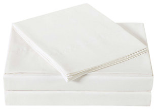 Microfiber Truly Soft Twin Sheet Set, Ivory, large