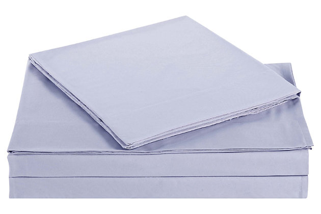 Microfiber Truly Soft Twin Sheet Set, Lavender, large