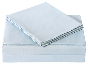 Microfiber Truly Soft Twin Sheet Set, Light Blue, large