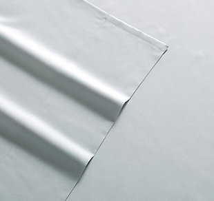 Microfiber Truly Soft Twin Sheet Set, Silver/Gray, large