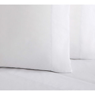 Microfiber Truly Soft Queen Sheet Set, White, large