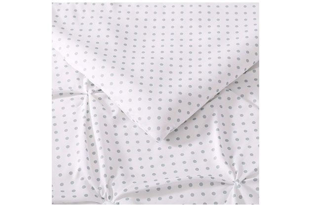 2 Piece Twin XL Duvet Set, Gray, large