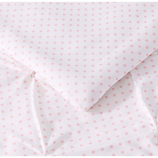2 Piece Twin XL Duvet Set, Pink, large