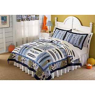 2 Piece Twin Quilt Set, , rollover