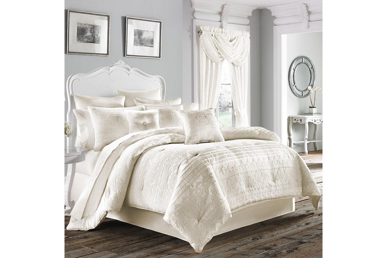 Five Queens Court Mackay 4 Piece Queen Comforter Set Ashley Furniture Homestore