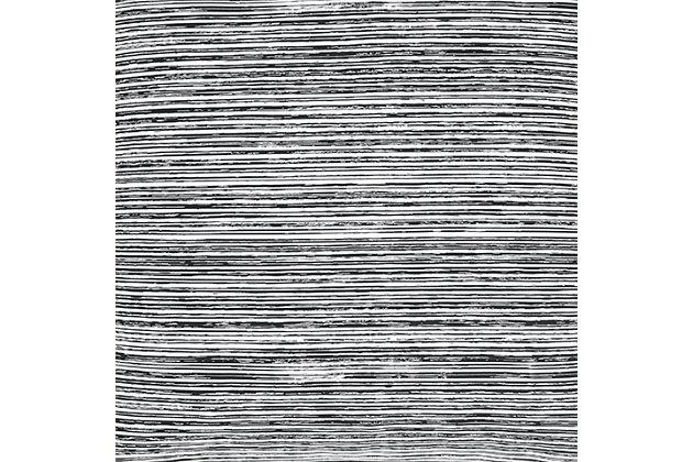 Cotton 4-Piece Queen Comforter Set, Black/Gray, large