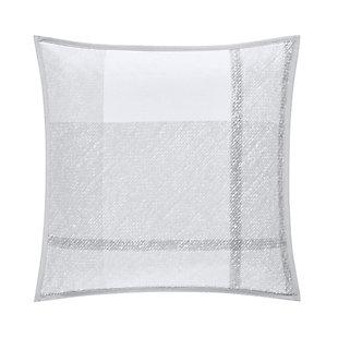 "Cotton 20"" Square Throw Pillow, , large"