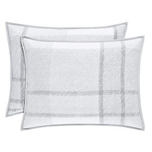 Cotton Standard Euro Sham, Gray, large