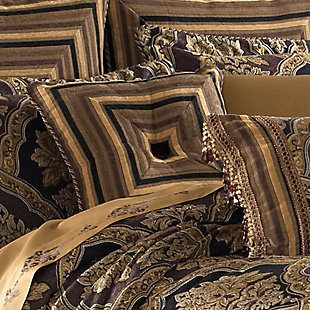 """Woven Jaquard 18"""" Square Throw Pillow, , rollover"""
