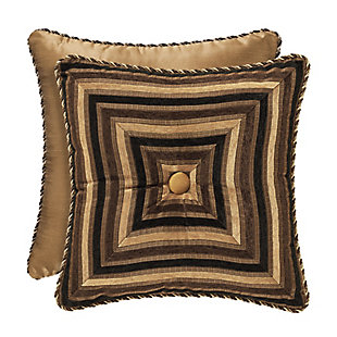 """Woven Jaquard 18"""" Square Throw Pillow, , large"""