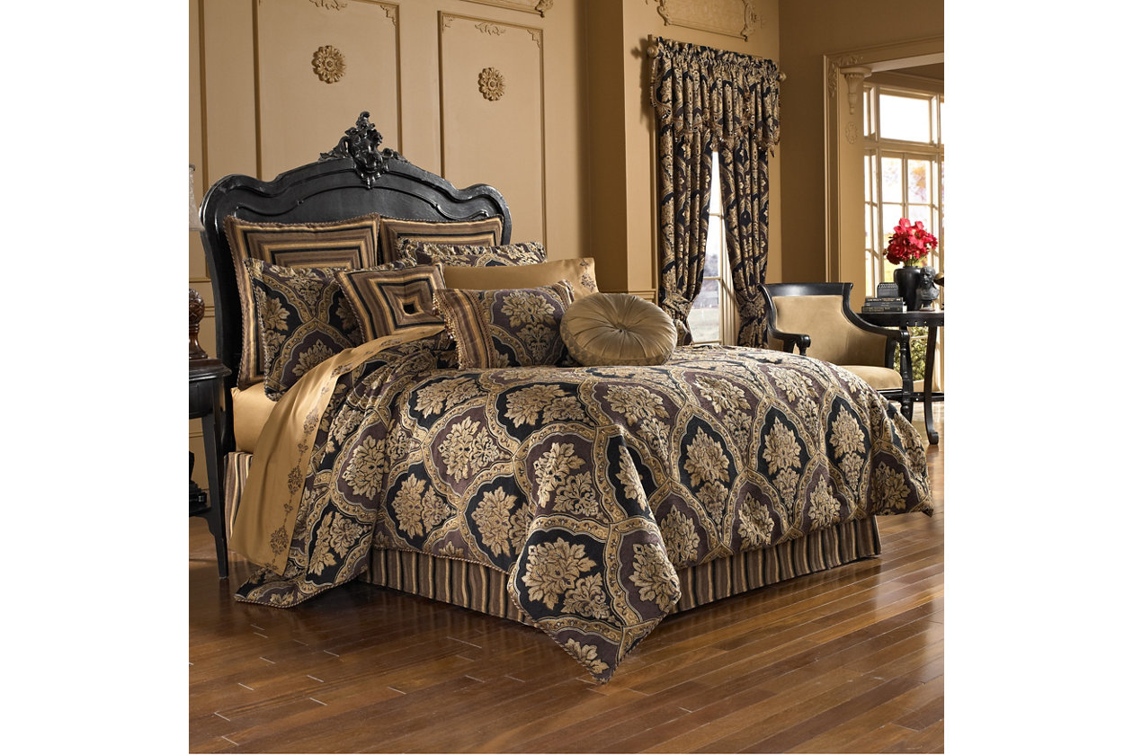 5 Piece Bedspread Throw Comforter /& 4 Pillowcases King Superking Size Quilt YJ12