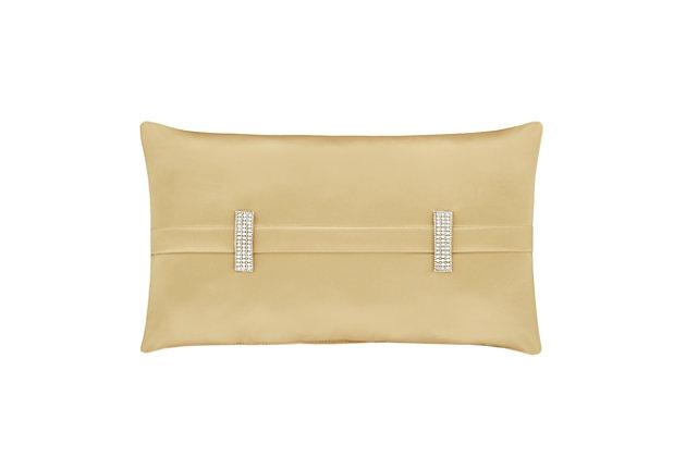 Woven Jaquard Boudoir Throw Pillow, , large