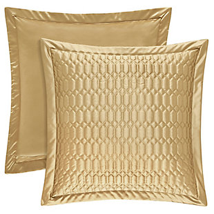 Woven Jaquard Square Euro Sham, , rollover