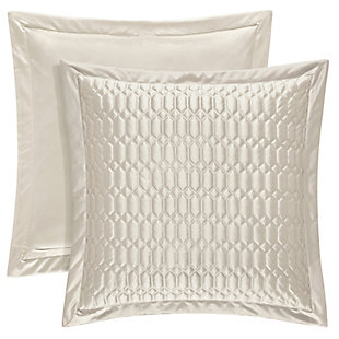 Geometric Square Euro Sham, , large