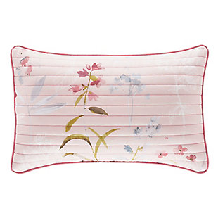 Floral Boudoir Throw Pillow, , large