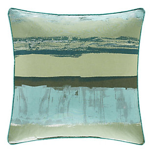 """Striped 18"""" Square Throw Pillow, , large"""
