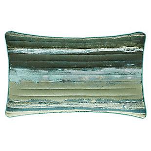 Striped Boudoir Throw Pillow, , large