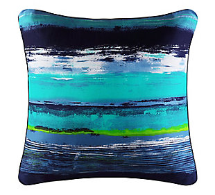 """Watercolor 18"""" Square Throw Pillow, , large"""