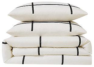 Geometric 2-Piece Twin XL Comforter Set, , large