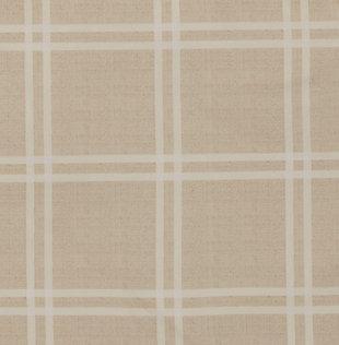 Plaid 3-Piece King Duvet Cover Set, Khaki, large