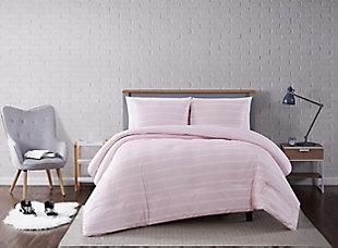 Striped 2-Piece Twin XL Comforter Set, , rollover