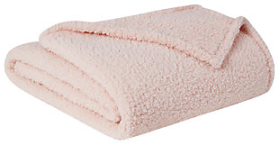 Microfiber Twin XL Blanket, Blush, large
