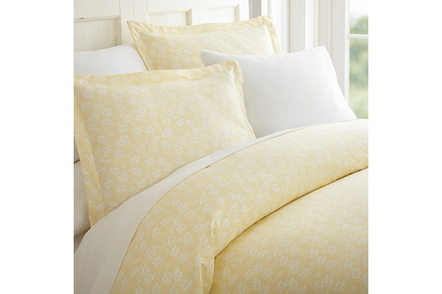 Wheatfield 3-Piece Twin/Twin XL Duvet Cover Set, Ivory, large