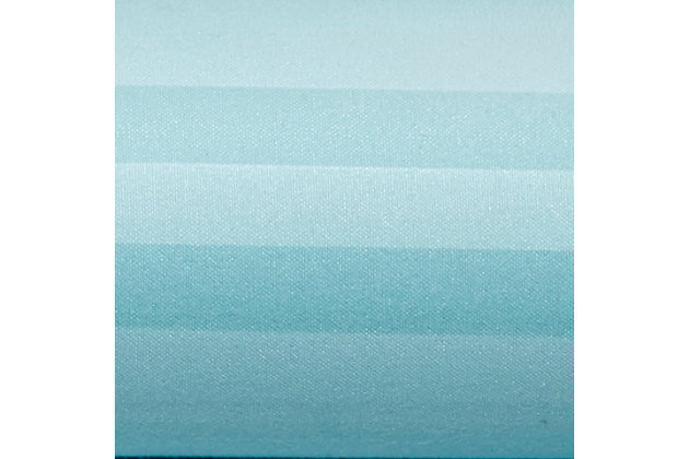 Striped 4-Piece California King Sheet Set, Aqua, large