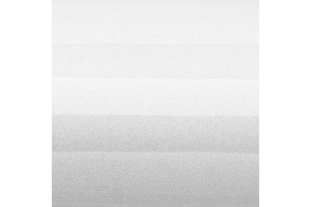 Striped 4-Piece Twin Sheet Set, White, large