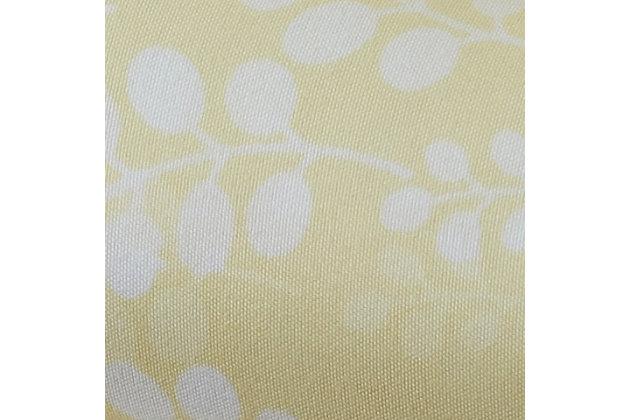Wheat Patterned 4-Piece Twin Sheet Set, Ivory, large