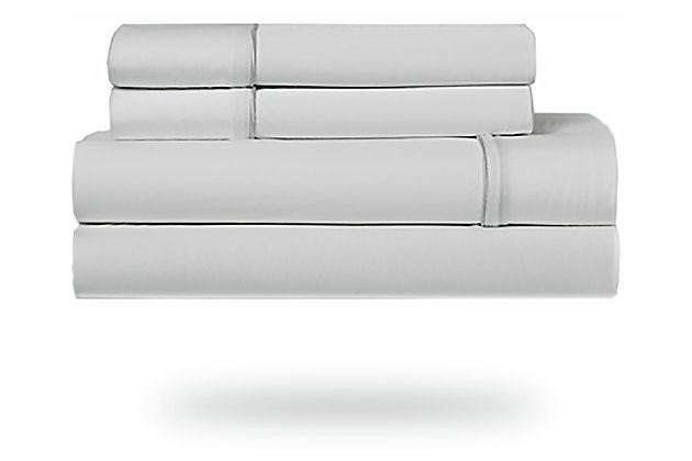 Bedgear Ver-Tex® Queen Sheet Set, Ice White, large