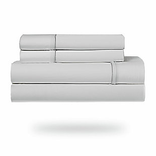 Bedgear Ver-Tex® Queen Sheet Set, Ice White, rollover