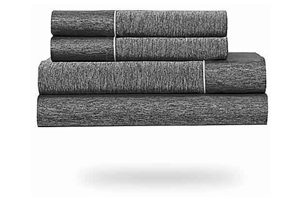 Bedgear Ver-Tex® Queen Sheet Set, Graphite, large