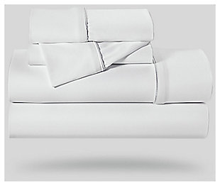 Bedgear Dri-Tec® Twin Sheet Set, White, large