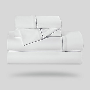 Bedgear Dri-Tec® Twin Sheet Set, White, rollover