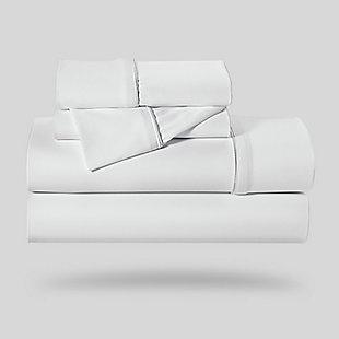 Bedgear Dri-Tec® Queen Sheet Set, White, rollover