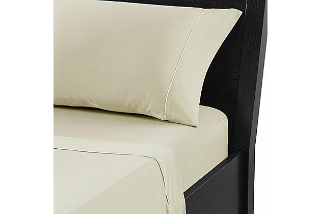 Bedgear Dri-Tec® Twin XL Sheet Set, Champagne, large